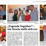 Tugende Together - Bericht Bezirksblatt